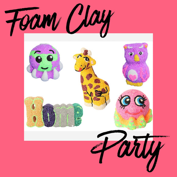 NEW Children's Foam Clay Party £160