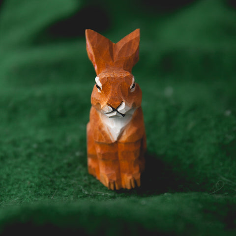 兔子木刻鉛筆刨 Rabbit Wood Carved Pencil Sharpener
