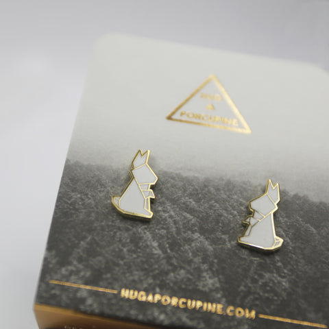 兔仔摺紙耳環 Rabbit Origami Earrings