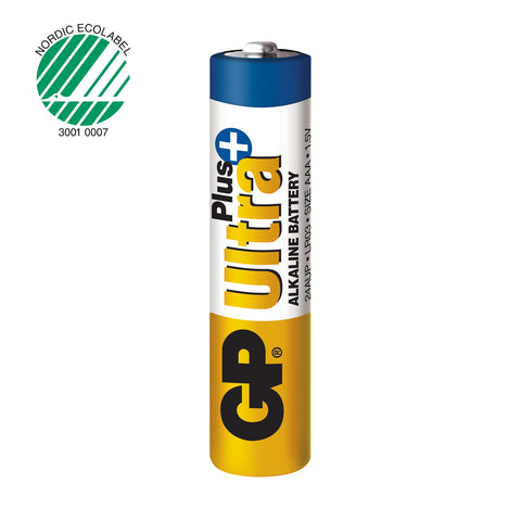 GP Ultra Plus Alkaline AAA-batteri 2-pack