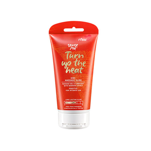 Sense Me - 3in1 Turn up the heat Massage Glide från RFSU - 150 ml