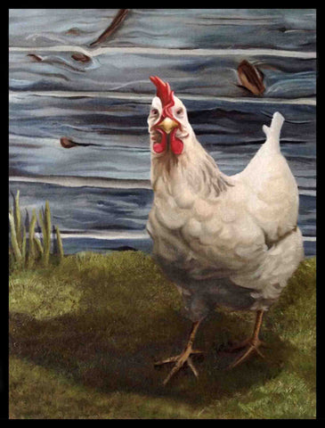Chicken-Painting-By-Samantha-Walsh