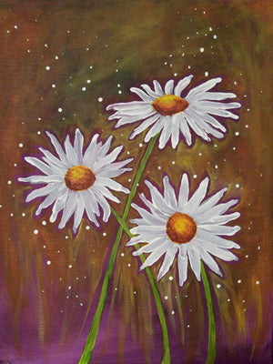 Spring Daisies created by student