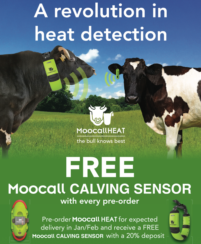 New product launch - Moocall HEAT