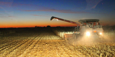 combine-harvester-night-dusk-evening-work-life-balance