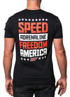 Speed. Adrenaline. Freedom. America Tee