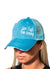 Distressed Aqua Women's Hat