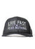 Black Live Fast Fear Nothing Big Logo