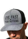 Live Fast Heather Grey