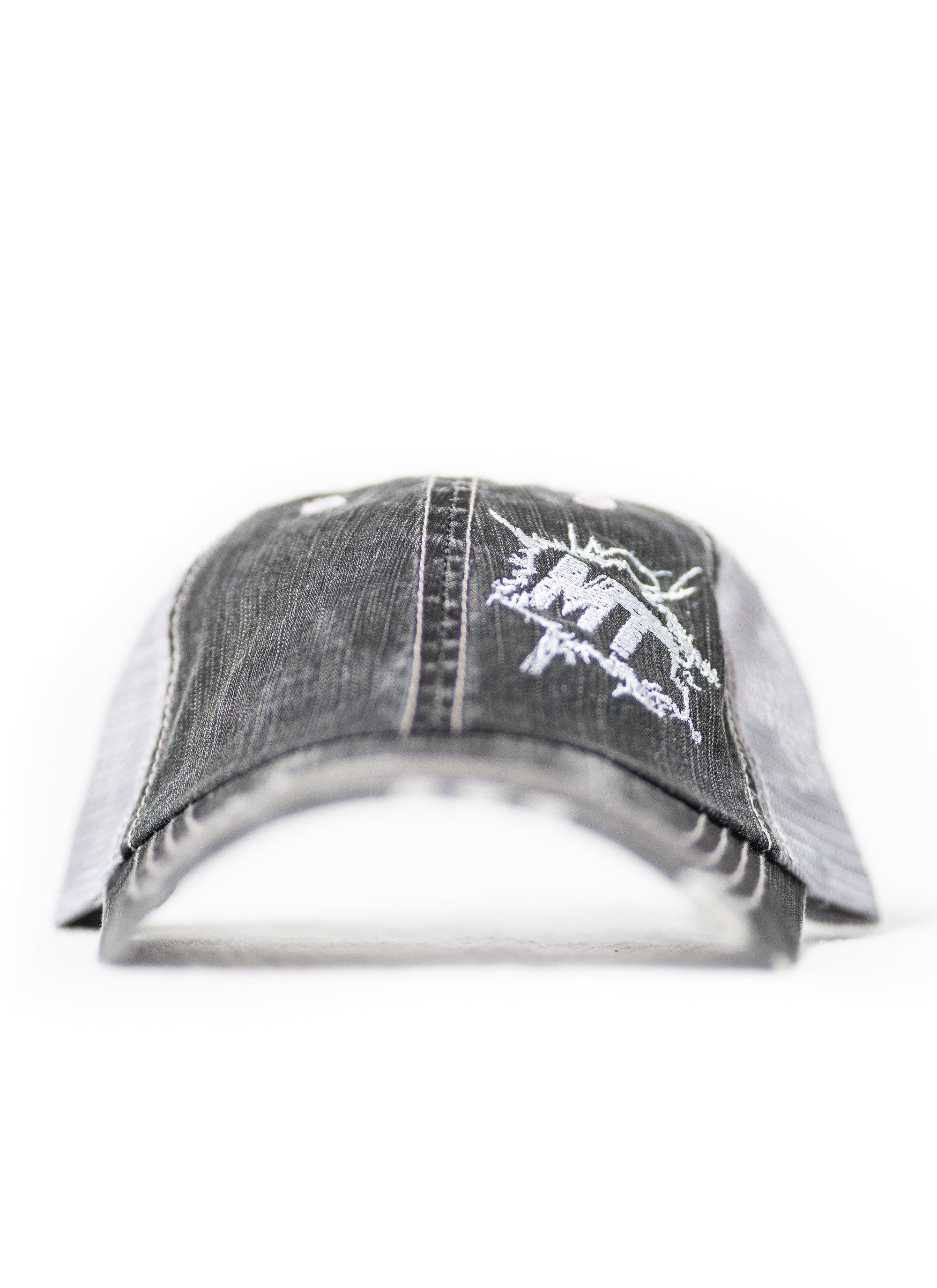 MudThumpin Splatter Hat - Light Grey