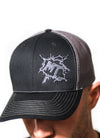 MudThumpin Snapback Hat - Dark Grey