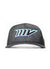 MV Neon Blue/Black Snapback