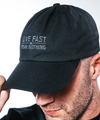 Live Fast Fear Nothing Grey/Black Dad Hat