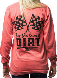 Love of Dirt Long Sleeve Pocket Tee