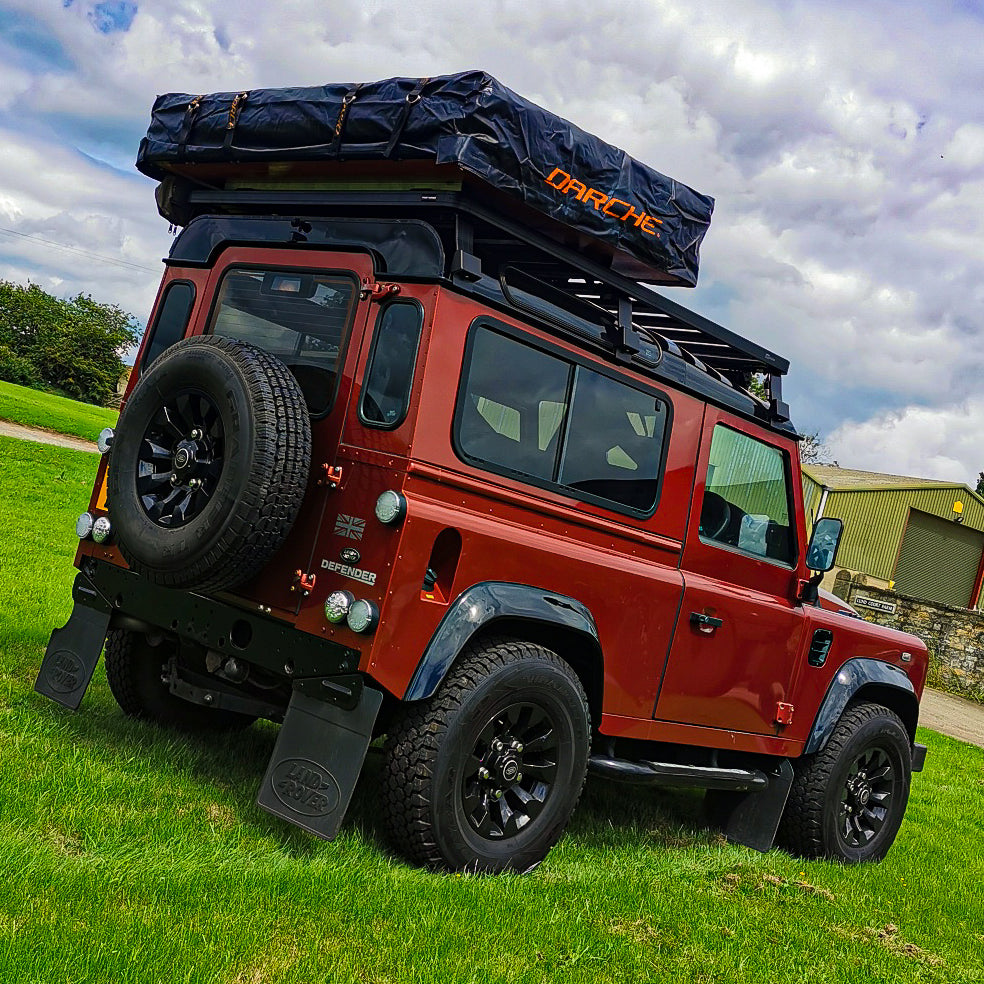 Darche Hi-View 1600 Roof Tent on a Land Rover Defender 90