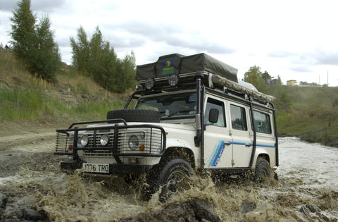 Howling Moon Land Rover Defender Trek Overland