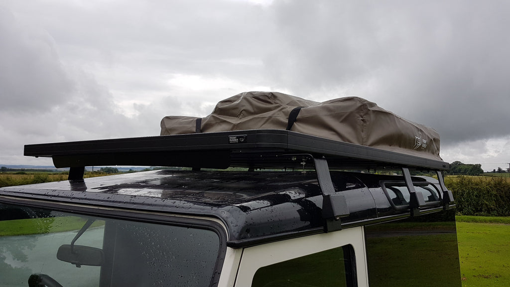 Land Rover Defender 90 Roof Rack and Roof Tent Fitting