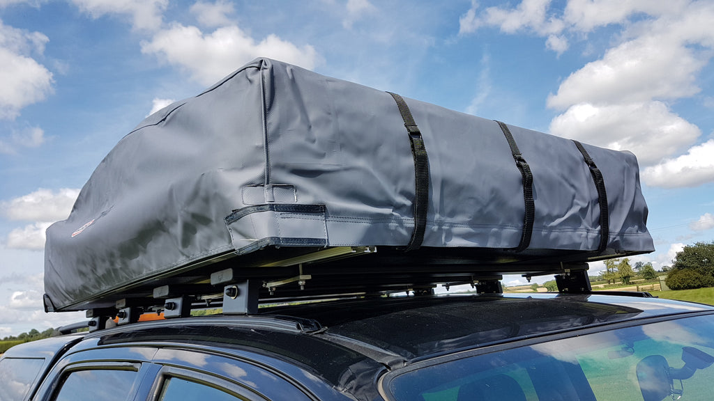 Toyota Hilux Roof Bars And Arb Tent Fitting Trek