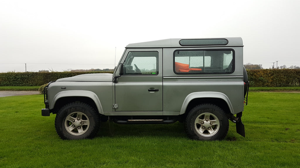 Land Rover Defender Roll Cage and Roof Rack Fitting Yorkshire UK - Trek Overland