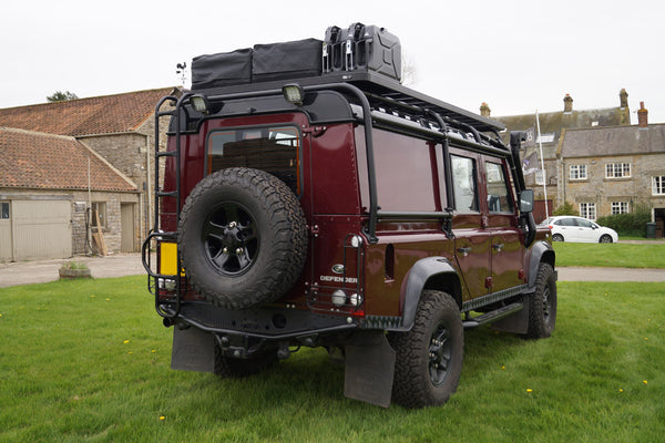 Land Rover Defender 110 Full External Roll Cage Amp Roof