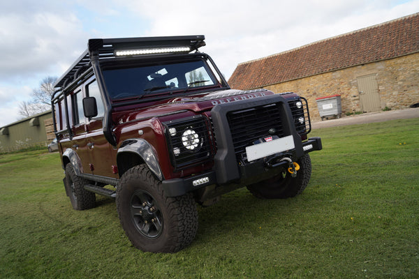 Land Rover Defender 110 Roll Cage Roof Rack Snorkel Fitting Service