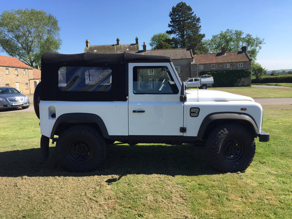 Land Rover Defender 90 Soft Top Conversion