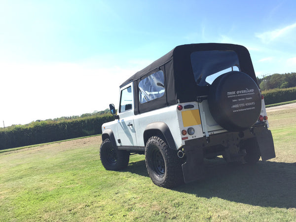 Land Rover Defender 90 Soft Top Conversion Roll Cage