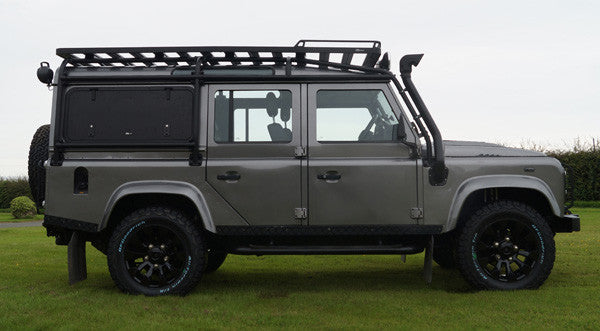Land Rover Defender 110 Roof Rack Roll Cage Fitting North Yorkshire