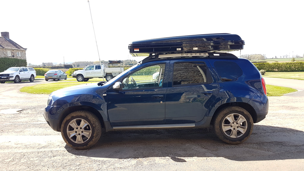 Dacia Duster Roof Tent Fitting - Trek Overland - Tentbox