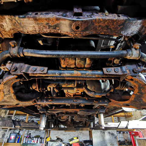 Dinitrol Vehicle Rust Prevention and Conversion