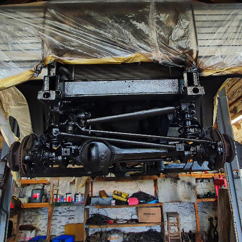 Land Rover Defender Vehicle Rust Proofing Dinitrol Treatment