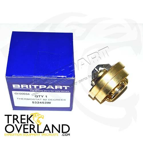 THERMOSTAT 82 DEGREES - BRITPART - 532453W