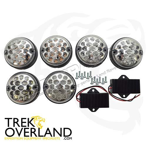LED LIGHT UPGRADE KIT CLEAR - WIPAC - DA1143CL