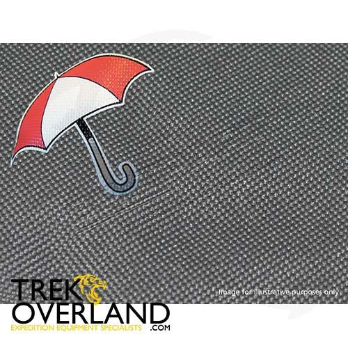 WATERPROOF SEAT COVERS FRONTSET DISCO 2 - BRITPART - DA2800GREY
