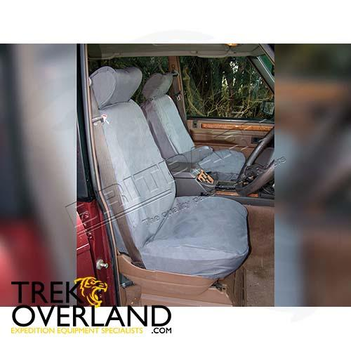 WATERPROOF SEAT COVERS FRT SET 5DR R/R CLASSIC - BRITPART - DA2803GREY