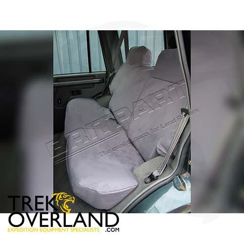 W/PROOF SEAT COVERS REAR DISCO - BRITPART - DA2808GREY