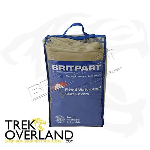 W/PROOF SEAT COVER REAR DISCO - BRITPART - DA2808SAND