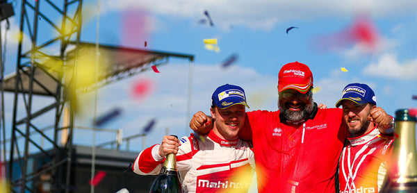 A win for mahindra racing and #teamomologato in Berlin