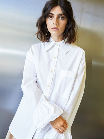 Wireless Puff Cuff Shirt