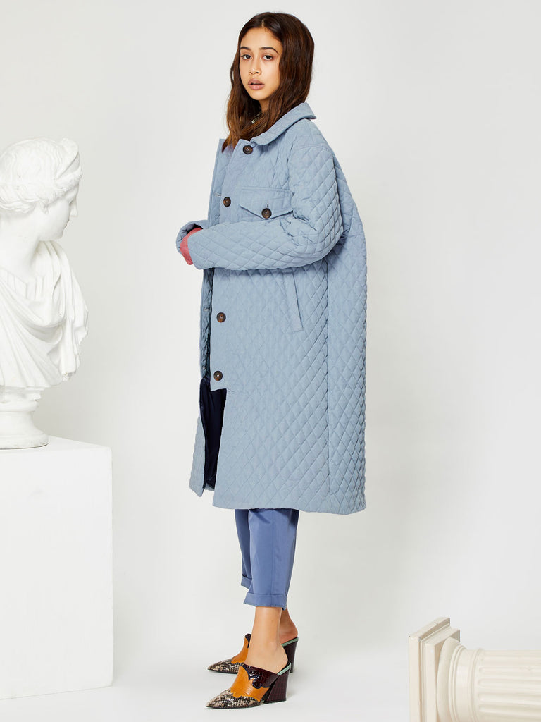Potter Quilted Overcoat