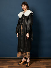 Chorus Faux Leather Coat