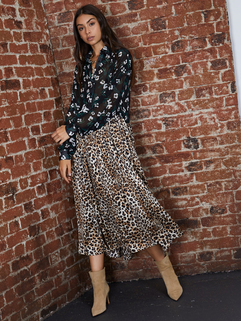 Urban Jungle Midi Dress