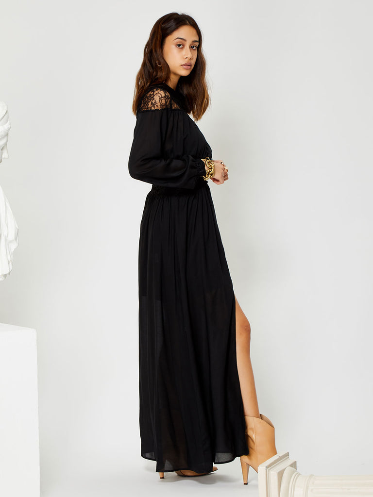 Heritage Laced Maxi Dress