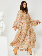 Archive Maxi  Smock Dress