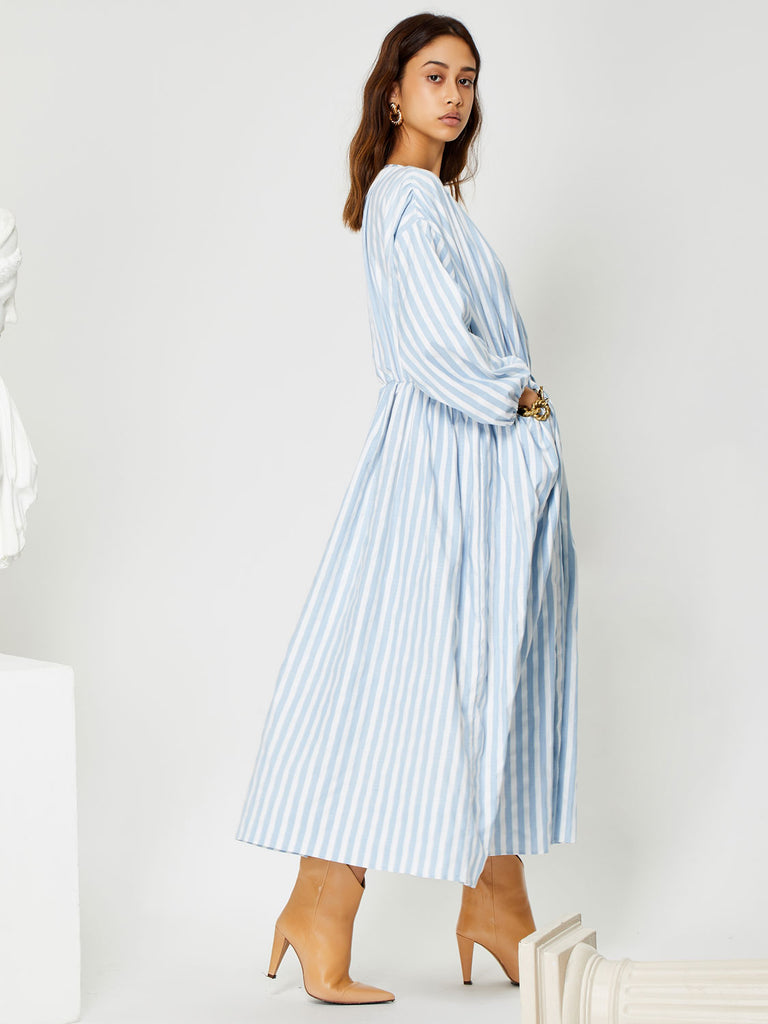 Relic Stripe Pocket Midi Dress