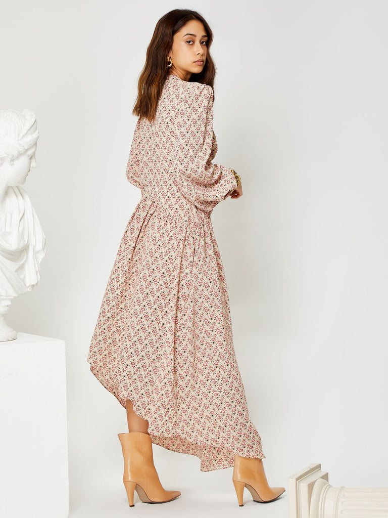 Finess High Low Midi Dress