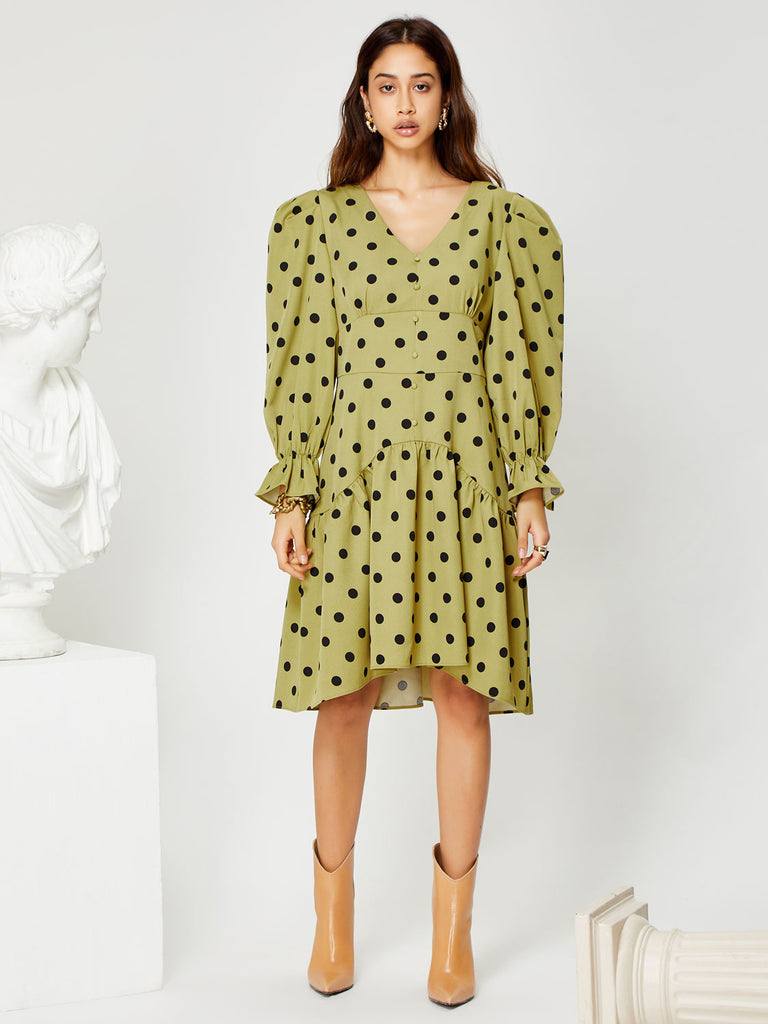 Easel Midi Dress