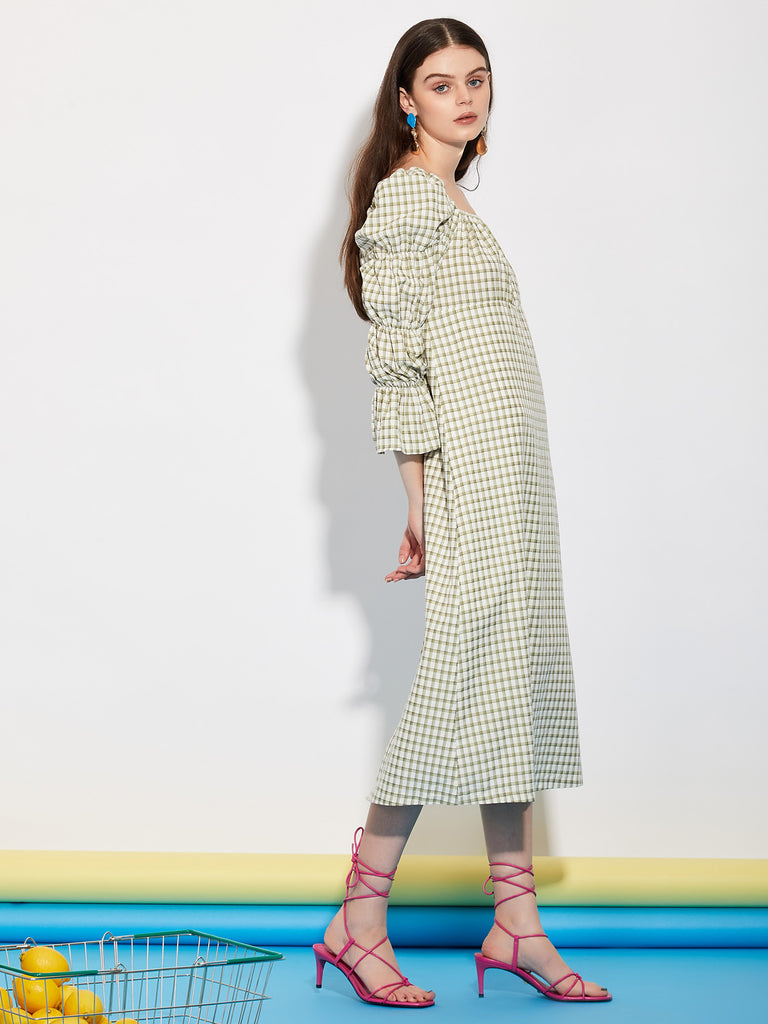 Market Milkmaid Midi Dress