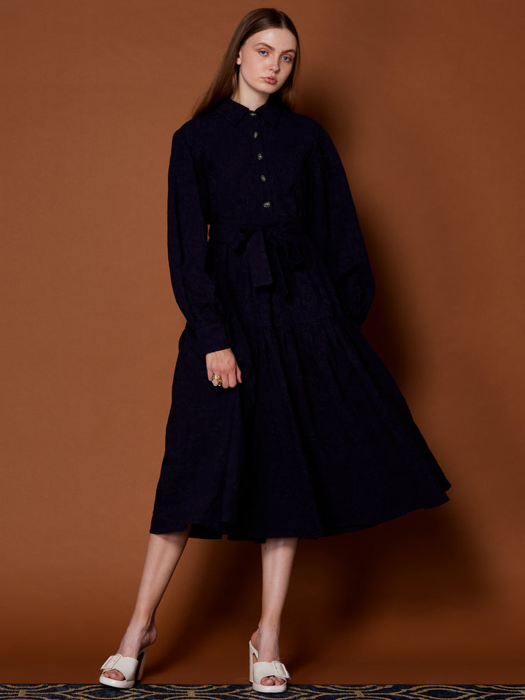 Storied Sites Midi Dress