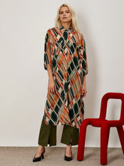 Construction Tunic Dress